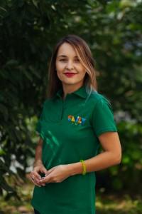 Наталія Паромська, сервіс менеджер